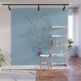 Ant-Bear Wall Mural