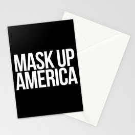 Mask Up America Stationery Cards
