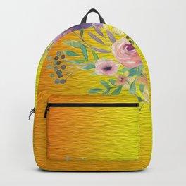 Flowers Gradient Backpack