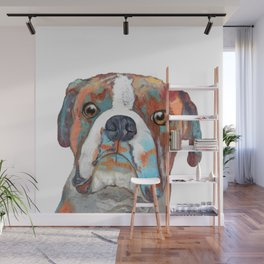 Boxer Pup Wall Mural