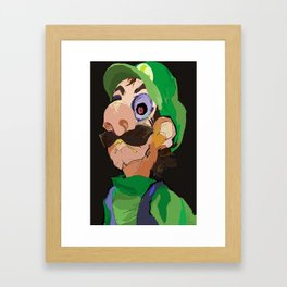 THE SMOLDER Framed Art Print