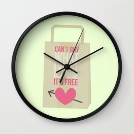 can't buy Wall Clock