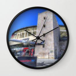 Besiktas Football Club Stadium Istanbul Wall Clock