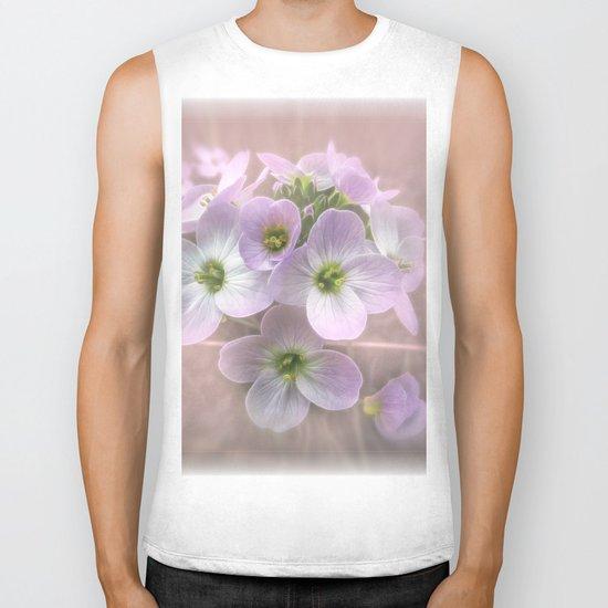 Wild Flowers Biker Tank