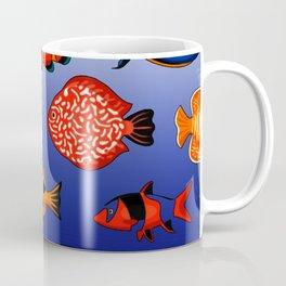 Peces tropicales Coffee Mug