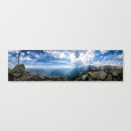 Meran // Mutspitze Canvas Print