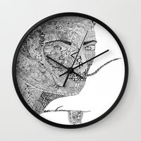 salvador dali Wall Clocks featuring Salvador Dali by Ina Spasova puzzle