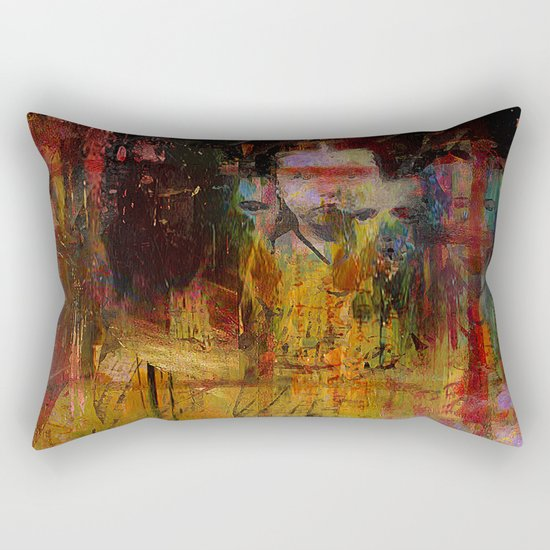 Lost innocence Rectangular Pillow