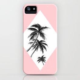Les Tropiques Pink iPhone Case