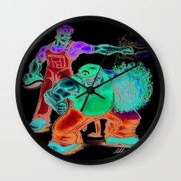 Mario Brothers Redux Wall Clock