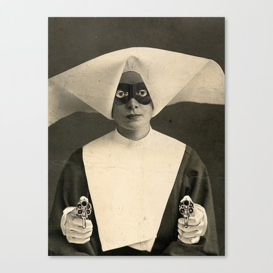 SARCHOTIC:  ANOTHER CHEAP TRICK Canvas Print