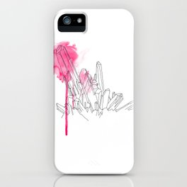 Pink Crystal iPhone Case