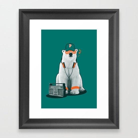 Popster Framed Art Print