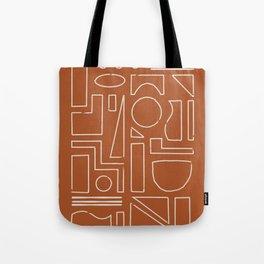 New Shapes Tote Bag