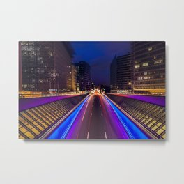 Schuman Lights Metal Print