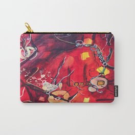 Red, blue Carry-All Pouch