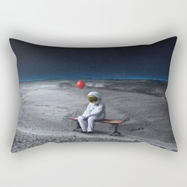 So many thoughts yet so little words. Rectangular Pillow