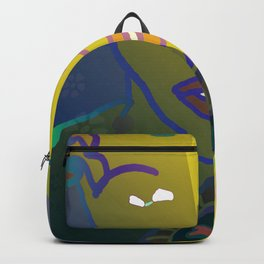Shaman of the Healing Sounds Backpack