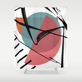 Torn Shackles Shower Curtain