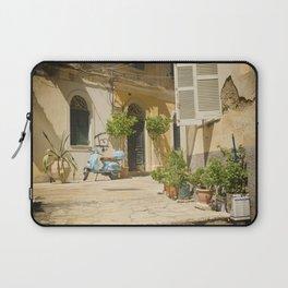 Corfu Street Scooter Laptop Sleeve