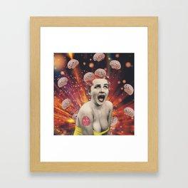 Information Overload Framed Art Print