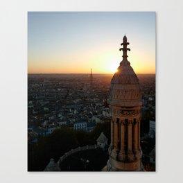 Paris at Dusk Canvas Print