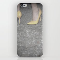 Take Off Your Stay-At-Home Shoes iPhone & iPod Skin