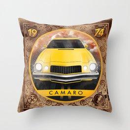 Camaro 74 Throw Pillow