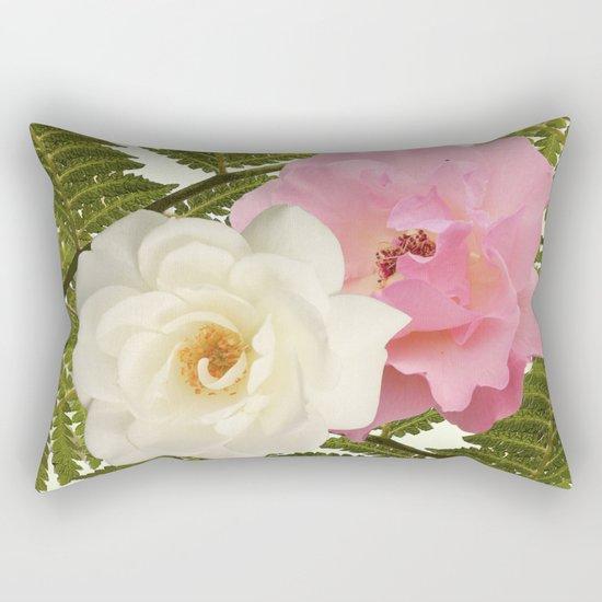 The laughter in the garden Rectangular Pillow