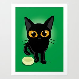 Magical eyes Art Print