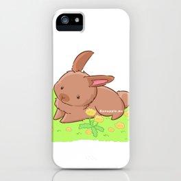 Dandelabbit iPhone Case