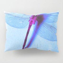 Iridescent Dragon Fly - Digital Photography Art Pillow Sham