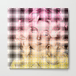 Dolly Dots Metal Print