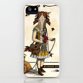 Mushroom Kid iPhone Case