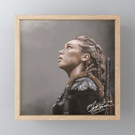 Lexa Framed Mini Art Print
