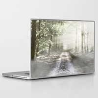 pixies Laptop & iPad Skins featuring Fairytale Forest by Helmar Designs