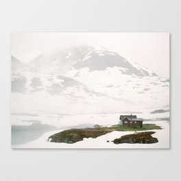 July in Norway Canvas Print