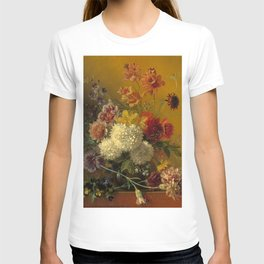 """George Jacobus Johannes van Os """"Still Life with Flowers"""" T-shirt"""