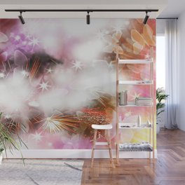 Love Storm Wall Mural