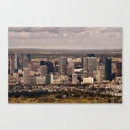 Paysage urbain de La Défense, Paris // La Défense, Paris Cityscape Canvas Print