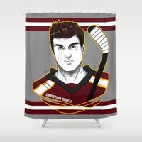 christian Shower Curtains featuring Christian Marti by Kana Aiysoublood