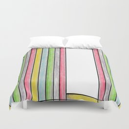 Draped II Duvet Cover