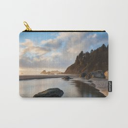 Setting Sun At Moonstone Carry-All Pouch