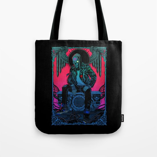 The Ghost of Dead Motor City Tote Bag