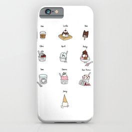 Parks and Rec Ice Cream iPhone Case