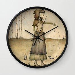 Circle of Protection Wall Clock