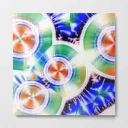 Happy Vitamin C Crystals in Sunlight Metal Print