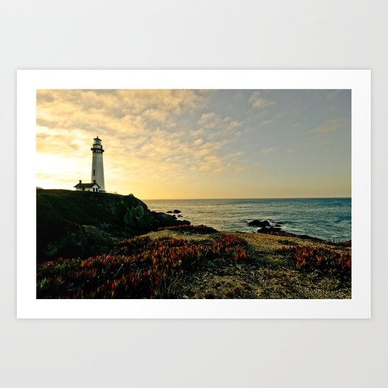 lighttower Art Print