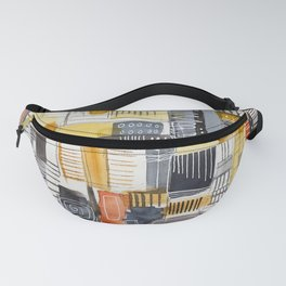 Autumn Rituals Abstract Painting Fanny Pack