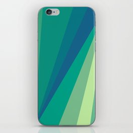 At the beach iPhone Skin